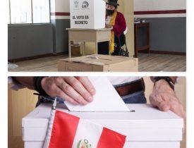 URNAS Y DEMOCRACIA:2ª Vuelta en Ecuador y Elecciones Generales en Perú